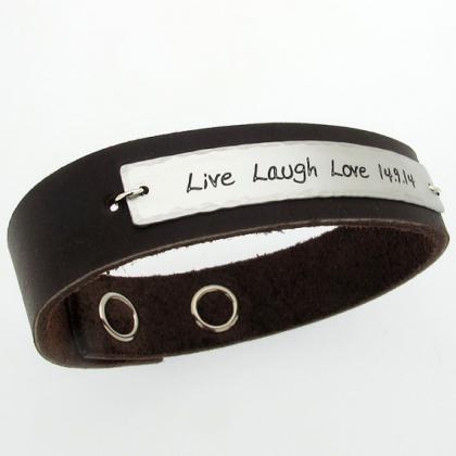 personalized mens bracelet custom bracelet for men